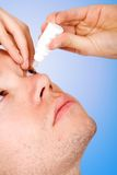 Eye drops Royalty Free Stock Images