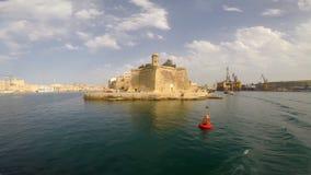 The Eye & Ear Vedette in Malta stock footage