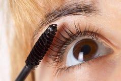 Eye el maquillaje Foto de archivo