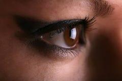 Eye el maquillaje Fotografía de archivo libre de regalías