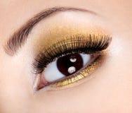Eye el maquillaje del encanto Imagen de archivo