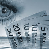 Eye on the Euro Stock Images