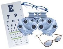 Eye Exam Royalty Free Stock Photos