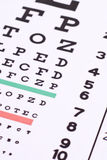 Eye Exam Royalty Free Stock Images