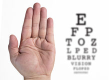Eye Exam Conceptual Royalty Free Stock Photography