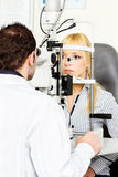 Eye examination Royalty Free Stock Images
