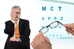 Eye examination Royalty Free Stock Image