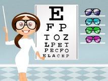 Eye examination Royalty Free Stock Images