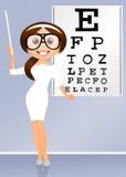 Eye examination Royalty Free Stock Photo