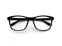 Eye exponeringsglas på vit bakgrund fotografering för bildbyråer