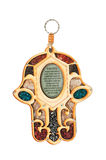 Eye of fatima. Hamsa hand amulet, used to ward off the evil eye in mediterranean countries Stock Photography