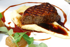 Eye Fillet Steak royalty free stock images