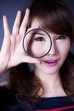 Eye filter Royalty Free Stock Image