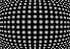 Eye fish dots royalty free stock images