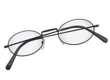eye folded glasses Royaltyfri Fotografi