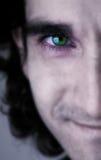 eye framsidagreen Arkivfoto