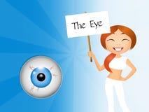 The eye Royalty Free Stock Photos