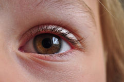 Eye future Stock Photo