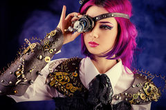 Eye gears Stock Photo
