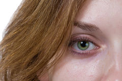 Eye of a girl Royalty Free Stock Photography