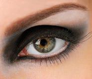 eye glamouren Arkivbilder