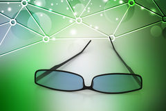 Eye glass Stock Photo