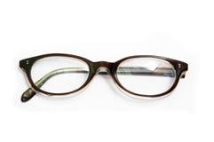 Eye glasses. Isolated on white background stock image