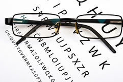 Eye glasses Royalty Free Stock Photography