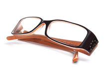 Eye Glasses. In white background Royalty Free Stock Photography