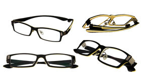 Eye glasses collection Stock Images