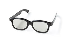 Eye glasses (3D cinema glasses) Royalty Free Stock Photos