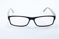 Eye glasses. Front view of eye glasses Royalty Free Stock Photo
