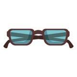 Eye glasses isolated icon Royalty Free Stock Image