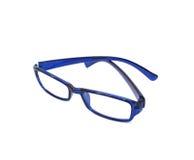 Eye Glasses Isolated on White.  stock photo