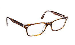 Eye glasses. Isolated on a white background royalty free stock photo
