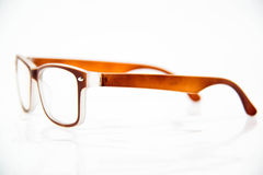 Eye glasses isolated. On a white background stock image