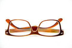 Eye glasses isolated royalty free stock images