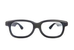 Eye glasses isolated on white. Background stock photography
