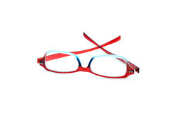 Eye Glasses Isolated on White Royalty Free Stock Photo