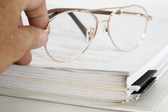 Eye glasses. Stock Photography
