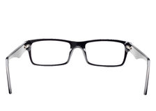 Eye glasses seen from back view Royalty Free Stock Image