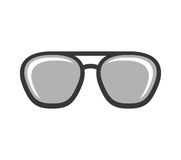 Eye glasses style icon Stock Photography