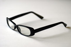 Eye Glasses on white. Women's fashion frames on a white backdrop stock photography