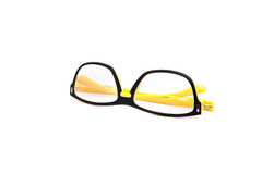Eye glasses on white background Royalty Free Stock Photo