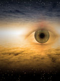 Eye of god Stock Photo