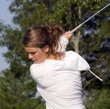 Eye On The Golf Ball Stock Photography