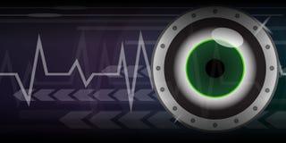 eye green Fotografering för Bildbyråer