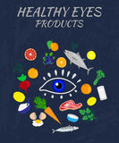 Eye Health Products Royalty Free Stock Images
