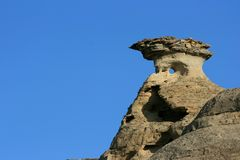 The Eye of a Hoodoo Royalty Free Stock Photo
