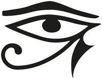 Eye of Horus Stock Photo